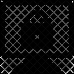 Screen Lock Glyph Icon