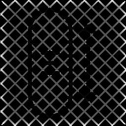 Scroll Horizontal Icon