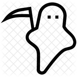 Scythe Line Icon