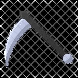 Scythe Flat Icon