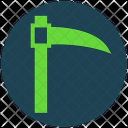 Scythe Glyph Icon