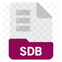 Sdb file Icon