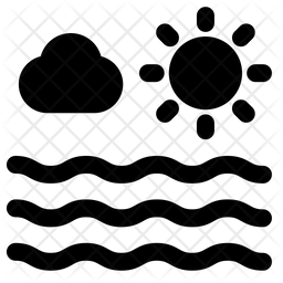 Sea Line Icon