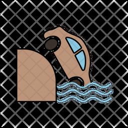 Sea Accident Icon