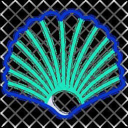 Sea Shell Line Icon