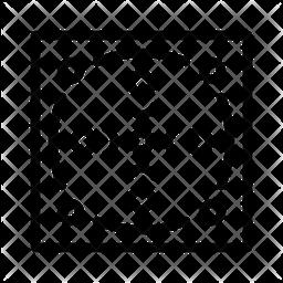 Seamless Pattern Line Icon