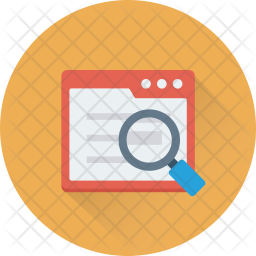Search Article Isometric Icon