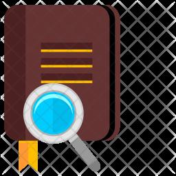 Search Book Icon