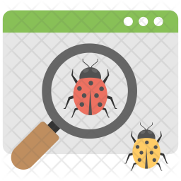 Search Bugs Icon