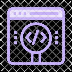 Search code Icon