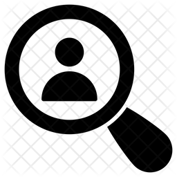 Search Employee Glyph Icon