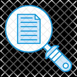 Search files Icon