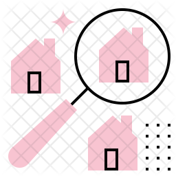 Search House Icon Of Colored Outline Style Available In Svg Png Eps Ai Icon Fonts
