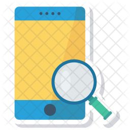 Search in mobile Icon