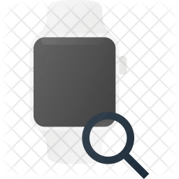 Search in Watch Flat Icon