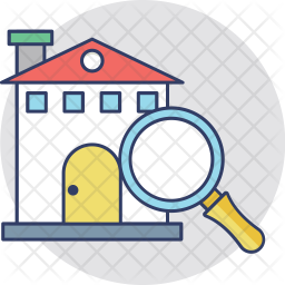 Search Listings Colored Outline Icon