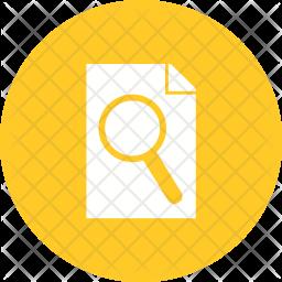 Search paper Icon