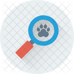 Search Paw Icon