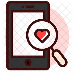 Searching for love Icon