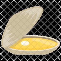 Seashell Flat Icon