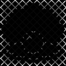 Seashell Pearl Glyph Icon
