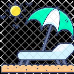 Seaside Resort Icon