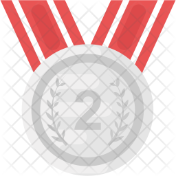 Second Place Medal Icon