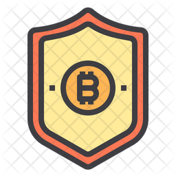 Secure Bitcoin Icon