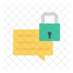 Secure Comment Icon