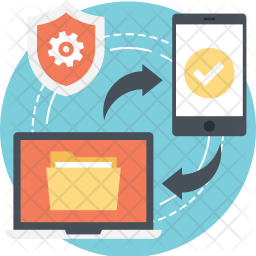 Secure Data Exchange Icon