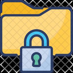 Secure Data Folder Icon