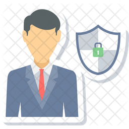 Secure Employee Icon
