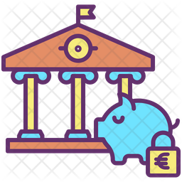 Secure Euro Investment Icon