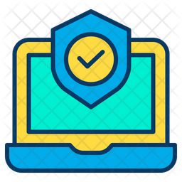 Secure Laptop Icon