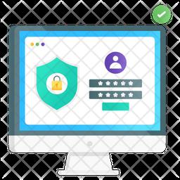 Secure Login Icon