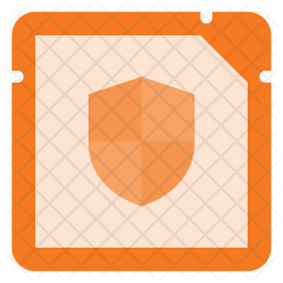 Secure Microchip Icon