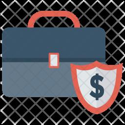 Secure portfolio Icon