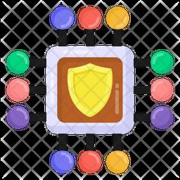 Secure Processor Icon