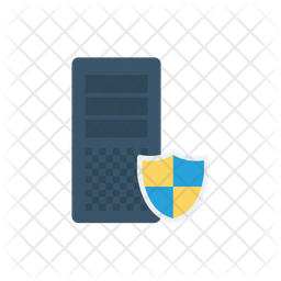 Secure Server Flat Icon