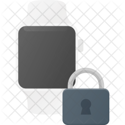 Secure Watch Flat Icon