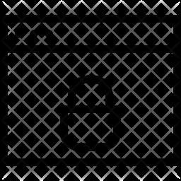 Secure webpage Line Icon
