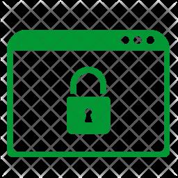 Secure window Icon