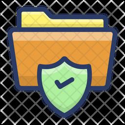 Secured Data Folder Icon