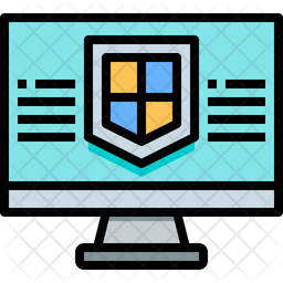 Security Colored Outline Icon