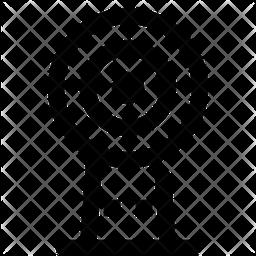 Security Cam Line Icon