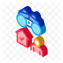 Security Camera Icon Of Isometric Style Available In Svg Png Eps Ai Icon Fonts