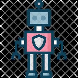 Security Robot Icon