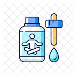 Sedative drops Icon