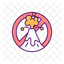 Self control problem Colored Outline Icon