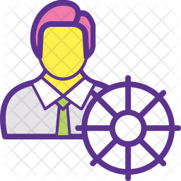 Self Regulation Colored Outline Icon